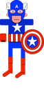 Captain America by Evilhumour-Author