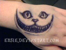 Cheshire Cat by Ebsie