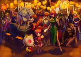 LOL - Chinese New Year Celebrate! by JoFang-Art
