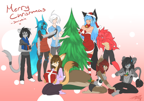 Christmas 2013 by Sarukin