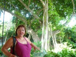 Kathi and the big tree by Tymuthus