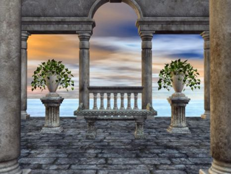 Place of Contemplation by shd-stock