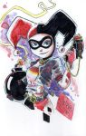 Watercolor: Harley Quinn by mikemaihack