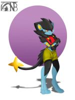 Pokemorphs - Luxray by kompy