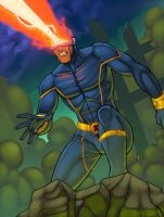 Cyclops Colored by JamieFayX
