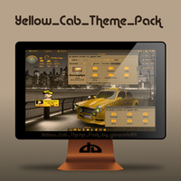 Yellow_Cab_Theme_Pack by giancarlo64