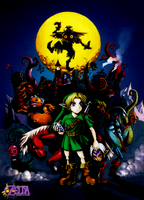 The Legend of Zelda: Majora's Mask Fanart 2012 by Legend-tony980
