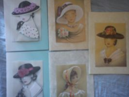 lady 3d cards by daylover1313