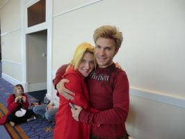 Vic Mignogna and Edward Elric by Strayist