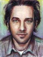 Paul Rudd Portrait by Olechka01