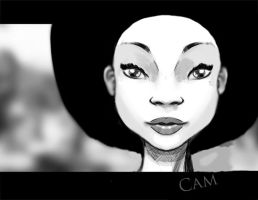 African Beauty by Houndzart