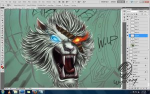 [WIP] Rengar the Pridestalker by WyaWy