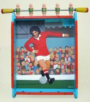 Childhood Hero-Georgie Best by gibsart