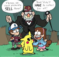 Gotta Catch Em All by CrackpotComics