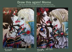 Meme:  Before And After by DarkButterflyOfNight
