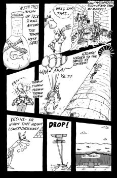 Knight and Tower Pg 4 by Aquin7777