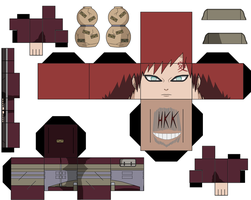 Commander Gaara by hollowkingking