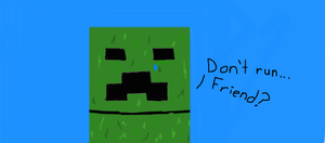Sad Mr. Creeper by XtremeMystery