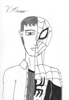 Peter/Spidey by UncannyVin