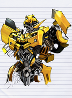 Bumble Bee by PocketNinja85