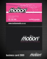 New Motion Bizzo Card by motionmedia