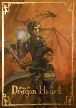 Born of Dragon Heart-Book Cover by hiddenwriterspirit