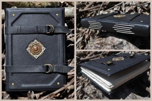 Black Medieval Book by sahdesign