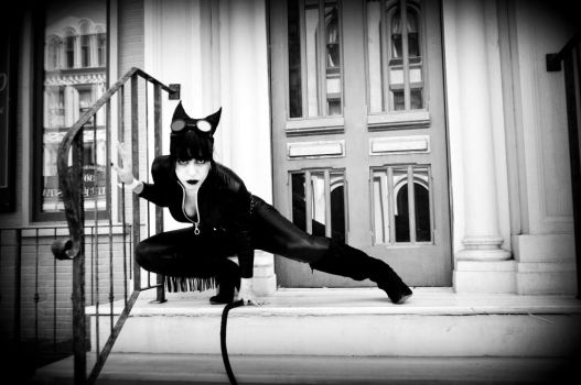 Catwoman Cosplay by TreVolteNera