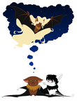 There There, Baldy-Bat by BambisParanoia