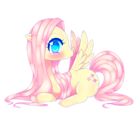 Fluttershy by ALilAngelKitty