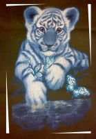 White Tiger. Cross Stitch by ouraion