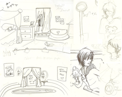 Silent Hill RP sketch dump by Pawky-san