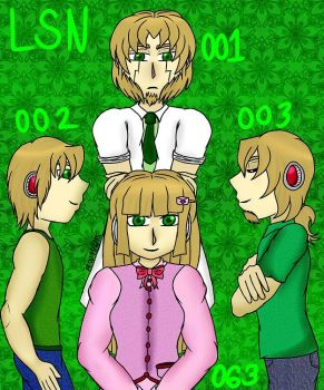 Caduceus Quartet - LSN Unit by forestchick501