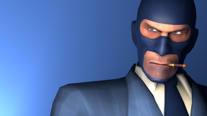 BLU Spy YEAH by ZeFlyingMuppet