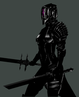 Huntress 02 by Banished-shadow