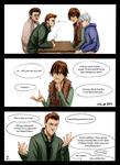 Destiel\Hijack comic - 2 by Hi-Ku