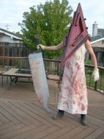 Meh Pyramid Head Costume by Lith-stoneshaper