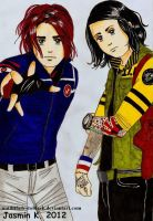 Party Poison and Fun Ghoul by UNTILitFADEStoBLACK