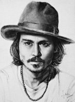 Johnny Depp by trivostudio
