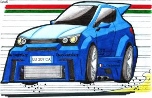 My sport concept Car (coloured) by Carbon93