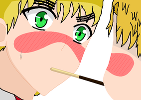 Pocky Game :D by Brofist12342
