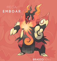 Mega Emboar Contest Entry by BrasioPkmn