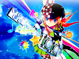 Colored Song Wallpaper by Pau-x
