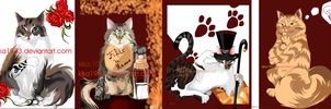 cats:commission by kika1983