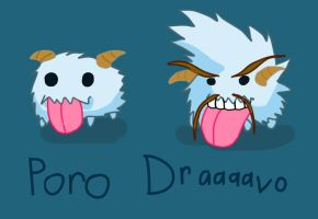 Dravenized Poro by GunSwordNinja