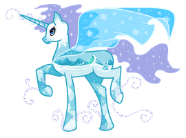 Frozen Pony Auction [CLOSED] by mlpdarksparx