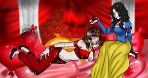 .:Collab: Ross and Yami as Disney Princesses:. by Yeesy