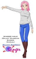 Ginger Hale - casual by Dangerman-1973
