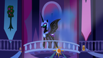 Nightmare Moon at the town hall. by EIREXE