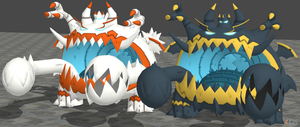 XPS Pokemon Sun and Moon Guzzlord